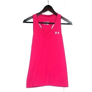 Under Armour Pink Semi Fitted Tank Top